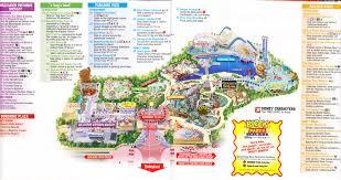 map of california adventure disney california adventure 2005 park map