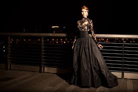Black Wedding Dress Queen Of The Night Elegant Black Wedding Dresses With