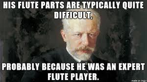 Flute Player Meme - fun facts about peter ilyich tchaikovsky album on imgur