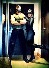 happy halloween love bane and catwoman xoxo my girlfriend and i