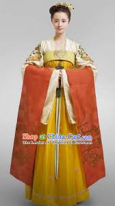 chinese ancient tang dynasty imperial princess costume