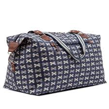 bags of bows holdall bows on navy if anyone would like to give this to