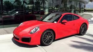 orange porsche 911 turbo 2017 lava orange porsche 911 carrera 370 hp porsche west broward