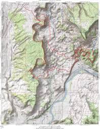 Colorado Topo Maps by Western Rim Trail