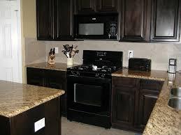 kitchen colors with black appliances espresso kitchen cabinets with black appliances kitchen cabinets