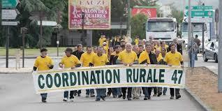 chambre agriculture 47 agen environ 80 agriculteurs employeurs ont manifesté pour se