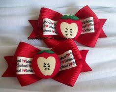back to school hair bows back to school hair bow school hair bow by ourlittlecharmedlife