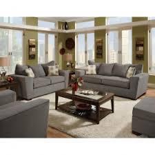 American Furniture  Piece Gray Microfiber Living Room Set Dark - American furniture living room sets