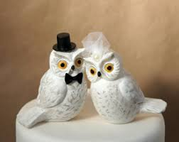 owl cake toppers etsy your place to buy and sell all things handmade