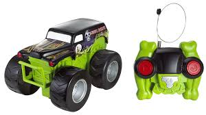Amazon Com Wheels Radio Control Monster Jam Grave Digger