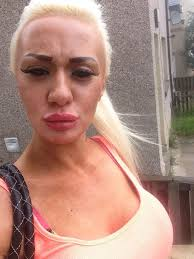 lips tattoo on shameless josie cunningham gets lips tattooed for huge pout after promising