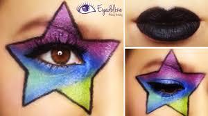 halloween makeup palette rockstar makeup tutorial by eyedolizemakeup youtube