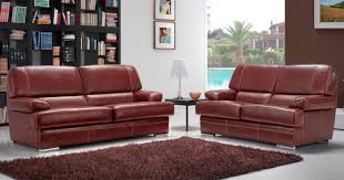 canapé cuir de buffle 3 places vasto salon 3 2 cuir buffle personnalisable sur univers du cuir