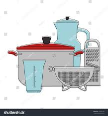 set kitchen containers stock vector 712081744 shutterstock