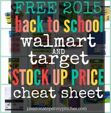 walmart vs target vs best buy black friday free back to walmart u0026 target stock up price cheat sheet