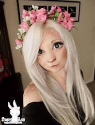 deer makeup by snowlee123 deviantart com on deviantart could