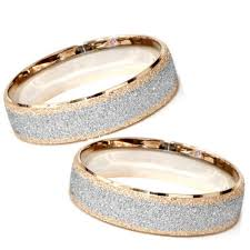 matching wedding bands matching his hers 14k white gold wedding bands