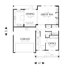 craftsman style house plan 3 beds 2 50 baths 2002 sq ft plan 48 523