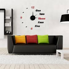 Home Decor Wall Clock Unique Modern Wall Clocks Ideas For Minimalist Room Midcityeast