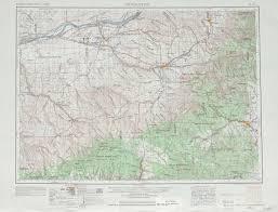 Walla Walla Washington Map by Pendleton Topographic Maps Or Wa Usgs Topo Quad 45118a1 At 1