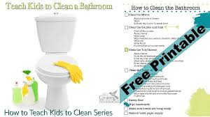 How To Clean A Laminate Floor Without Streaking How To Clean A Bathroom Bathroom Cleaning Checklist Printable