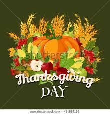 vector happy thanksgiving celebration design stock vector