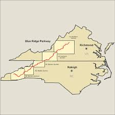 map usa parkway blue ridge parkway map america s byways