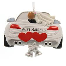 Personalized Ornaments Wedding Personalized Ornament Wedding Car Ornament Personalized Ornament
