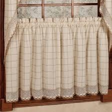 Kitchen Tier Curtains Check U0026 Plaid Valances U0026 Kitchen Curtains You U0027ll Love Wayfair