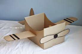 cardboard box airplane repeat crafter me cardboard boxes