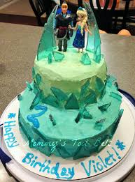 a must have for all little girls a frozen birthday cake