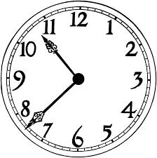 clip art simple clock clip art of clock clipart 7912 u2014 clipartwork