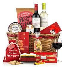 christmas basket christmas cracker basket virginia hayward hers ltd