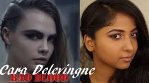 Bad Blood Video Cara Delevingne Inspired Makeup Tutorial Bad Blood Music Video