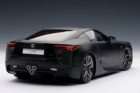 lexus coupe black lexus lfa autoart matte black 5 accrue chartered accountants