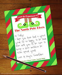 elf letter template 76 free christmas stationery and letterheads