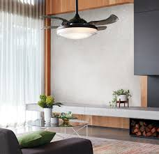 fanaway evora 90cm ceiling fan with retractable blades and light