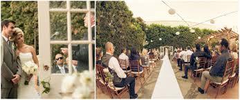 california courtyard wedding rustic wedding chic