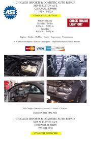 lexus body shop chicago chicago imports u0026 domestic auto repair 3109 n elston ave