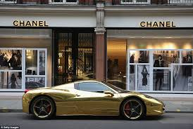 gold plated lamborghini aventador gold lamborghini worth 4m pictured in could be s most