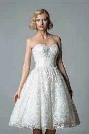 50 S Wedding Dresses Lorna 1064 Off Shoulder Lace Tea Length Short Vintage 50s Wedding