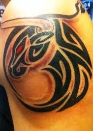 bull tribal designs for on arm design insigniatattoo com
