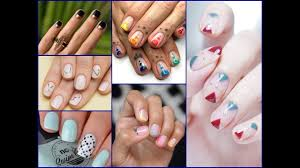 25 very easy minimalist nail art designs ideas for beginners youtube