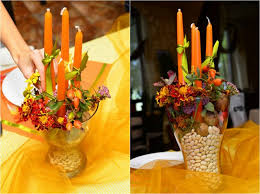 table decoration for thanksgiving table decorations and diy centerpiece ideas