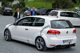 volkswagen golf gti 2013 spyshots 2013 vw golf gti and golf r mk7 test mules spotted in