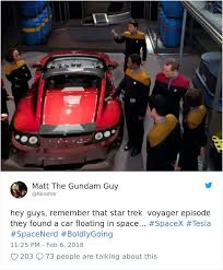 Car Guy Meme - 20 of the funniest reactions to elon musk sending tesla car to