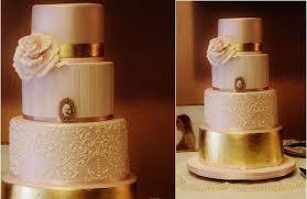 wedding cake gold metallic gold cakes tutorials cake magazine