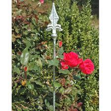 decorative garden stake finial topped stake kinsman company