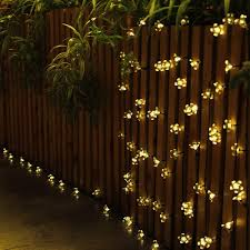 Multi Colored Solar Garden Lights by Aliexpress Com Buy Solar String Flowers Holiday Lighting Outdoor