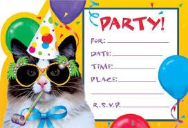 birthday party invitations templates wblqual com